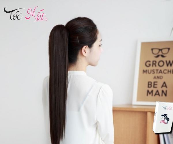 Mẹo buộc tóc đuôi ngựa đơn giản nhưng đẹp